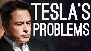 Tesla's Problems - Elon's Sleeping in the Factory Again..