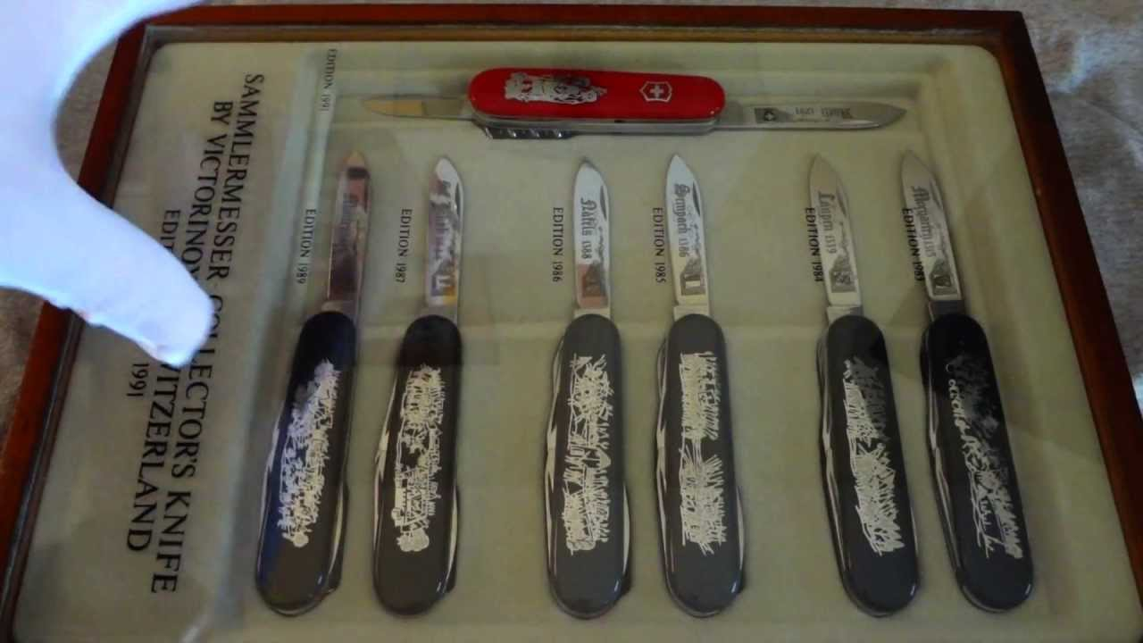 Victorinox Sammlermesser Knife Collection 1983 1991