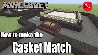 How to Build the WWE Casket Match in Minecraft!