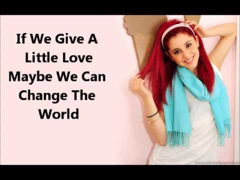Ariana Grande-Put your hearts up (lyrics)