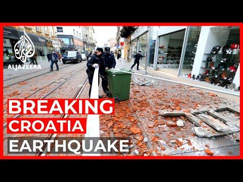 Strong magnitude 6.3 earthquake hits Croatia