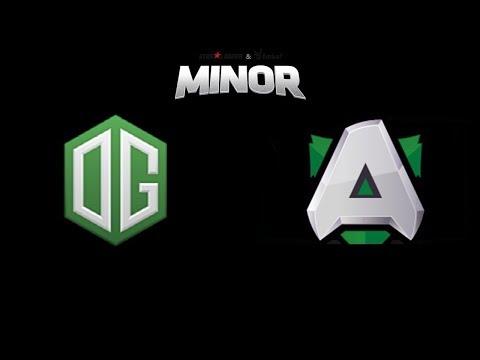 OG vs Alliance StarLadder ImbaTV Dota2 Minor Highlights Dota 2 thumbnail