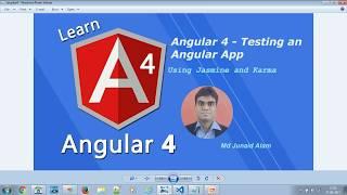 Angular 4 - Testing Angular App  - #22
