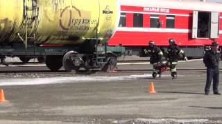 видео Пожарные поезда.