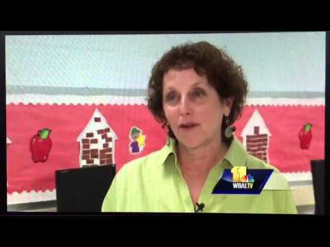 WBAL TV Interview Glenmount Elementary Middle School Playground  with Megan Pringle
