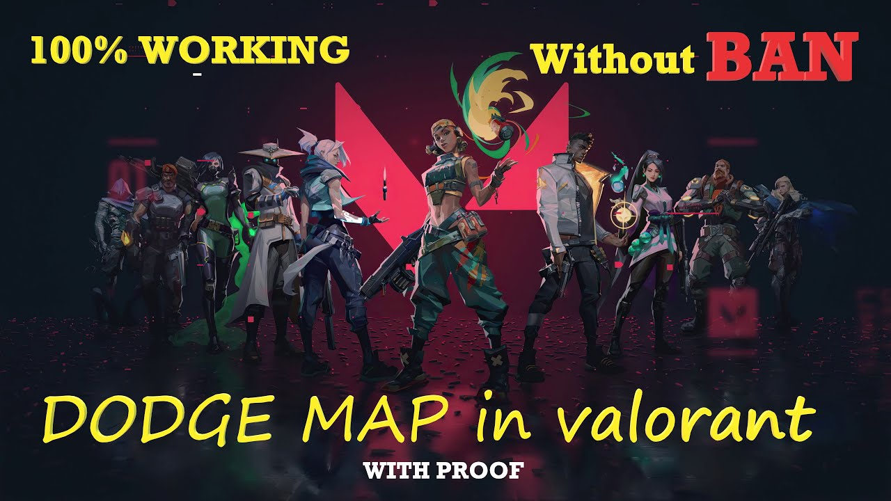 dodge game valorant How to dodge in Valorant  How to cancel the map without getting