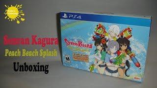 Senran Kagura Peach Beach Splash No Shirt, No Shoes All Service Edition PS4 Unboxing & Overview