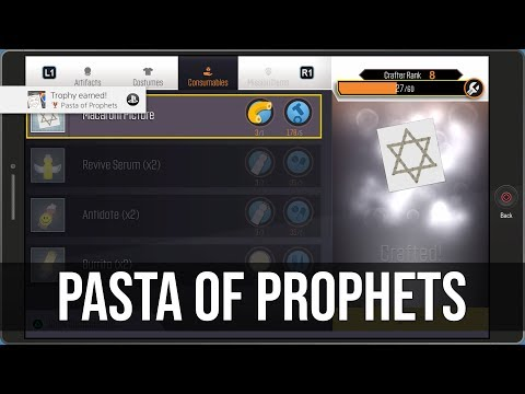 Pasta of Prophets (Hidden) Trophy Tutorial - South Park: The Fractured But Whole