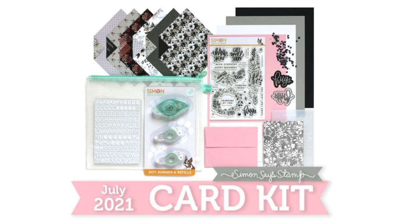 SIMON SAYS STAMP MONTHLY CARD KIT // JULY 2021