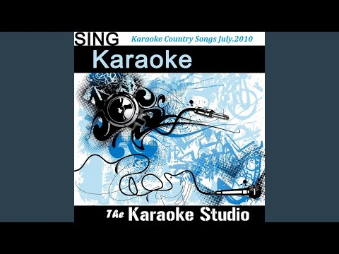Ain't Back Yet (In the Style of Kenny Chesney) (Instrumental Version)