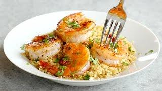 Garlic Butter Shrimp Quinoa