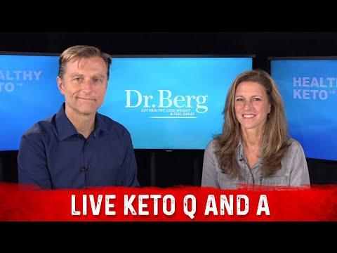 Keto Live Show - Dr. Berg and Karen this Thursday