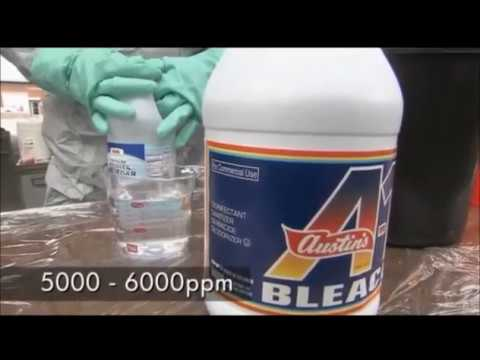 Decontamination Technologies and Procedures Household Bleach Solution 2005 USEPA
