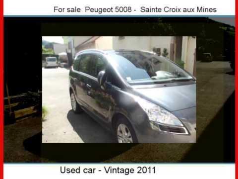 Sale One Peugeot 5008  Sainte Croix Aux Mines