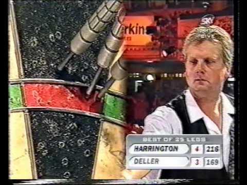 Keith Deller vs Rod Harrington - 1998 World Matchplay - Semi Finals - Part 4/10