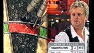 Keith Deller vs Rod Harrington - 1998 World Matchplay - Semi Finals - Part 4/10
