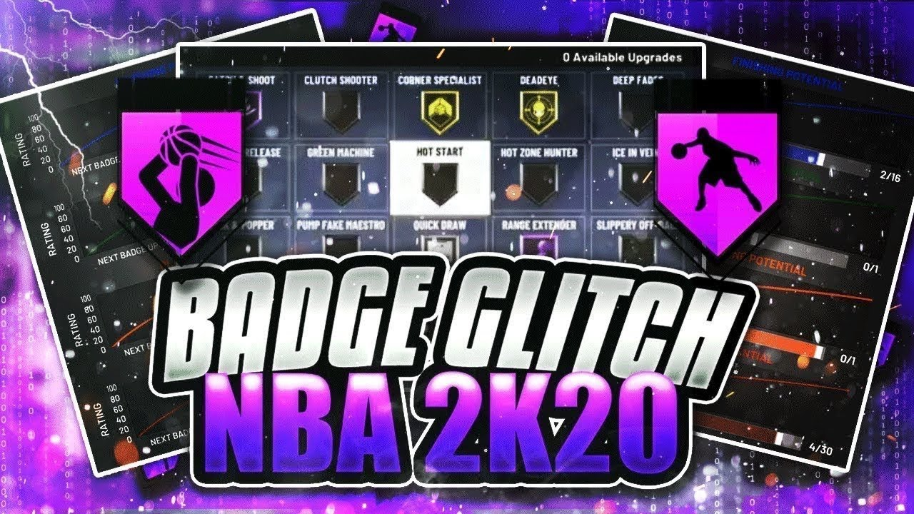 *NEW* NBA 2K20 UNLIMITED BADGE GLITCH!MAX OUT ALL BADGES FAST! EASY AND QUICK BADGE GLITCH!