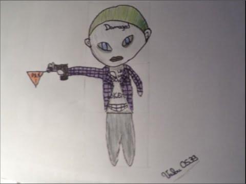 Comment dessiner joker version chibi easy youtube - Comment dessiner joker ...