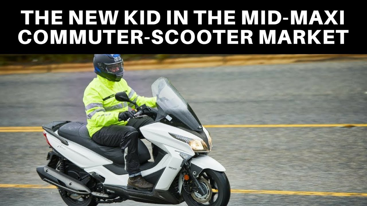 2018 KYMCO XTown 300i Review - ZUBER CAR