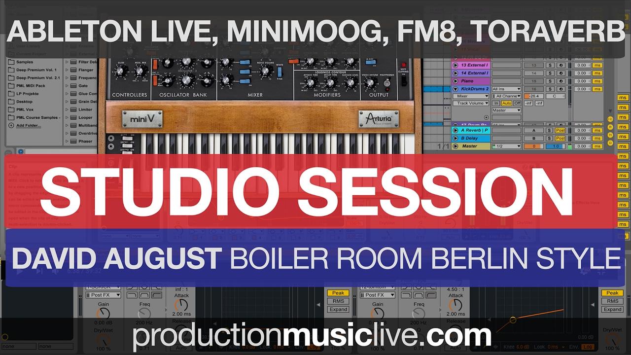 Studio Session Melodic Deep Ableton Live Style David