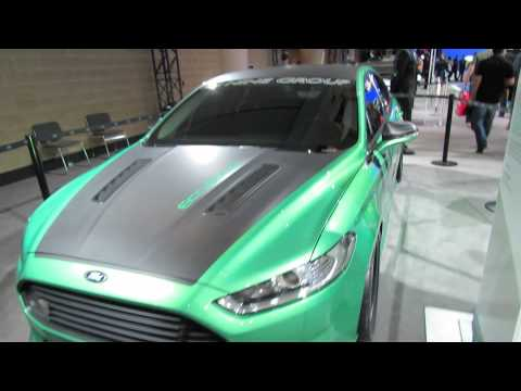 how to change 2013 ford fusion headlight