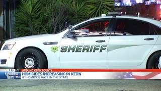 Kern County leads California with highest homicide rate