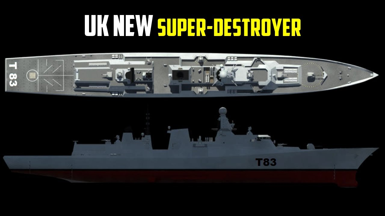 Here's the Royal Navy's New Type 83 Super-Destroyer - YouTube