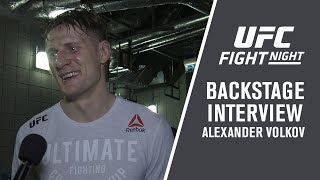 Fight Night London: Alexander Volkov - 'This Is The Biggest Win of My Career '
