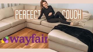 Wayfair Couch!!! (Unboxing, Assembly, & Review)