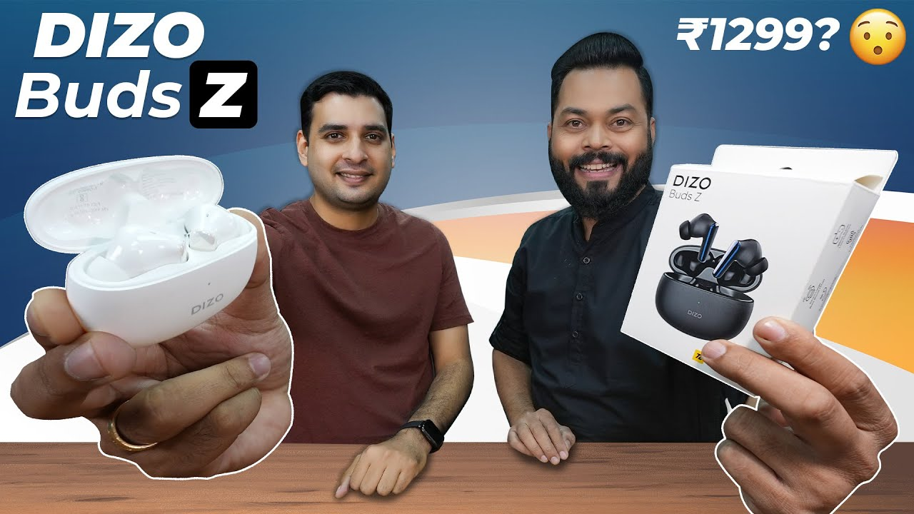 Dizo Buds Z Unboxing And First Impressions Feat. Dizo CEO ⚡ 10mm Drivers, realme Link @ Just ₹1299?
