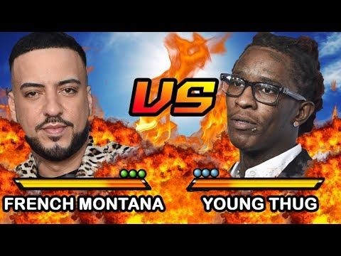 French Montana vs. Young Thug is listed (or ranked) 1 on the list The Biggest Rap Beefs Of 2020