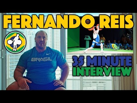 Fernando Reis Interview: The Strongest Weightlifter in the Americas [4k]