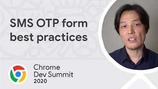 SMS OTP form best practices
