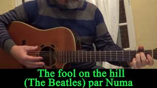 The fool on the hill (The Beatles ) acoustic guitar cover