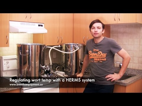 Regulating Wort Temp With A HERMS System