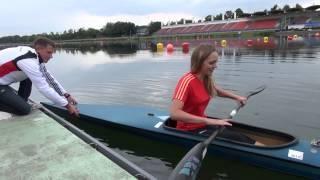 Das Kanuexperiment mit der nicht wasserscheuen Praktikantin von der Rheinischen Post