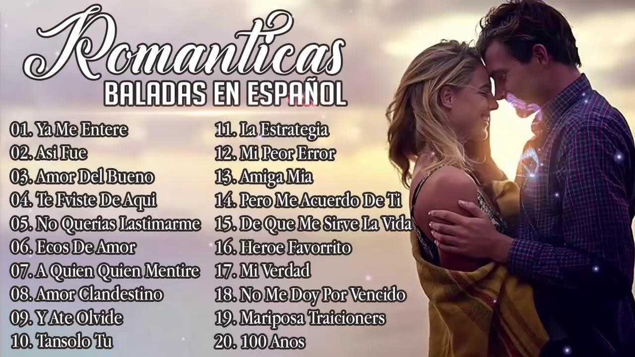 Musica Romantica Para Trabajar Y Concentrarse Las Mejores Canciones Romanticas En Espanol 2019 Youtube