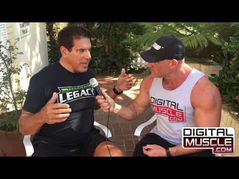 Lou Ferrigno Invites DigitalMuscle.com into His Home (Muscle Beach TV)