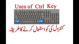 What is the use of Ctrl key in Computer Science? | English Subtitles