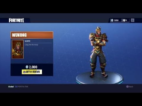 FORTNITE NEW WUKONG OUTFIT MONKEY KING Battle Royale @ShoutGamers @BlazedRts