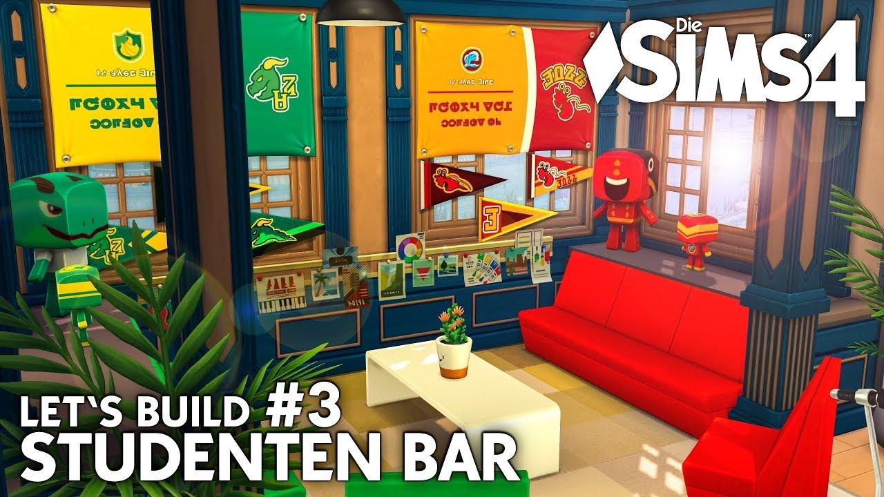 Studentenbar 3 Bauen Mit Die Sims 4 An Die Uni Deutsch