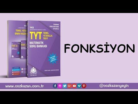 TYT Matematik Soru Bankası -  Fonksiyon