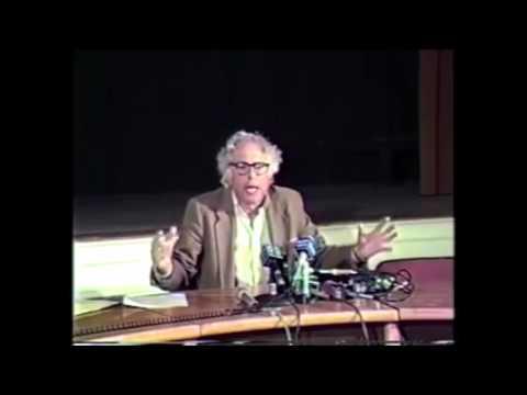 """Bernie Sanders In 1988 On """"Reprehensible"""" Israeli Violence Against Palestine"""