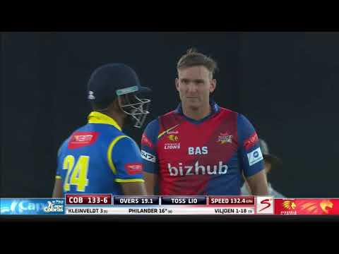 Ram Slam T20 Challenge:  Cape Cobras vs Lions, 24 Nov. 2017