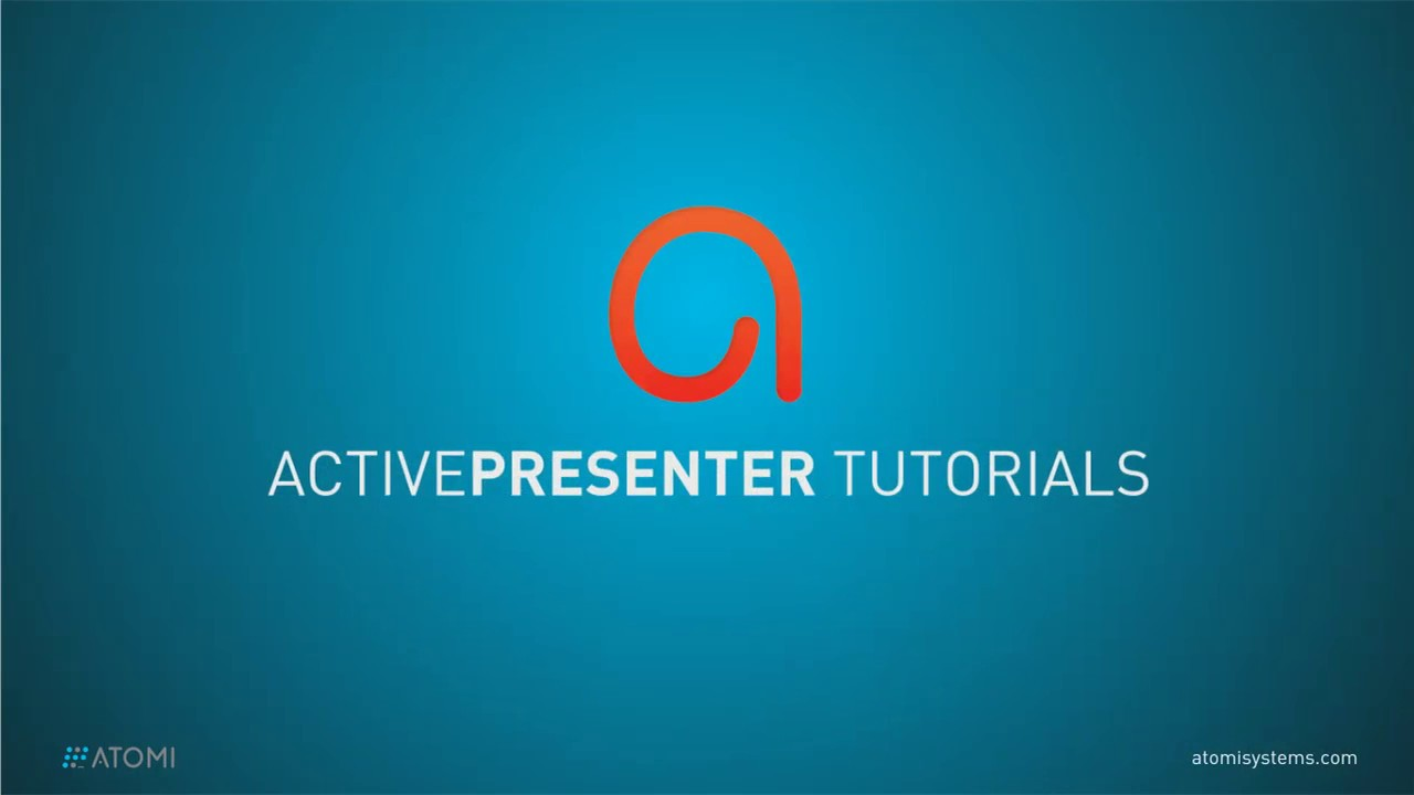 How to Export ActivePresenter Projects to Videos - Atomi Systems, Inc