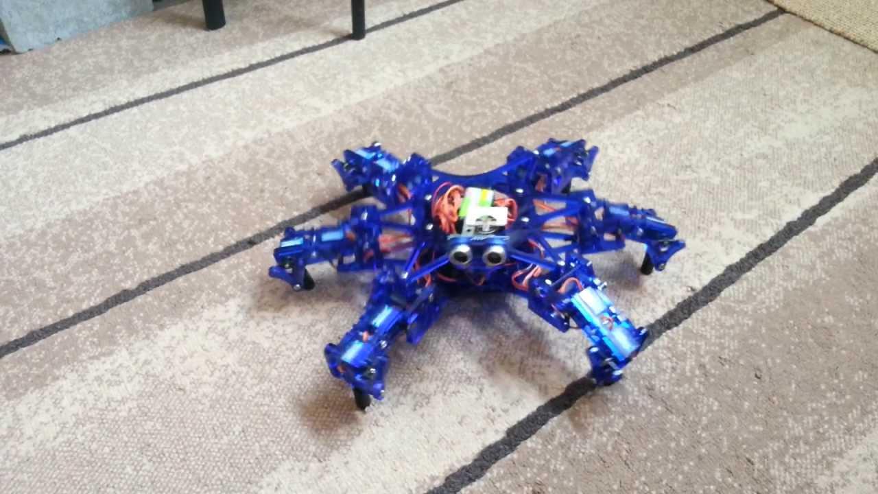 11 DIY hexapod robots | Into Robotics