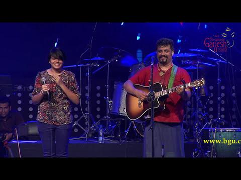 """""""Munjane Manjalli""""song by Raghu Dixit performing live @ 53rd Bengaluru Ganesh Utsava..!!!"""