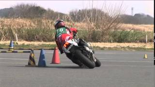 2015 3 22 Dunlop Moto Gymkhana Koto 選手 GSX-R750 heat 2