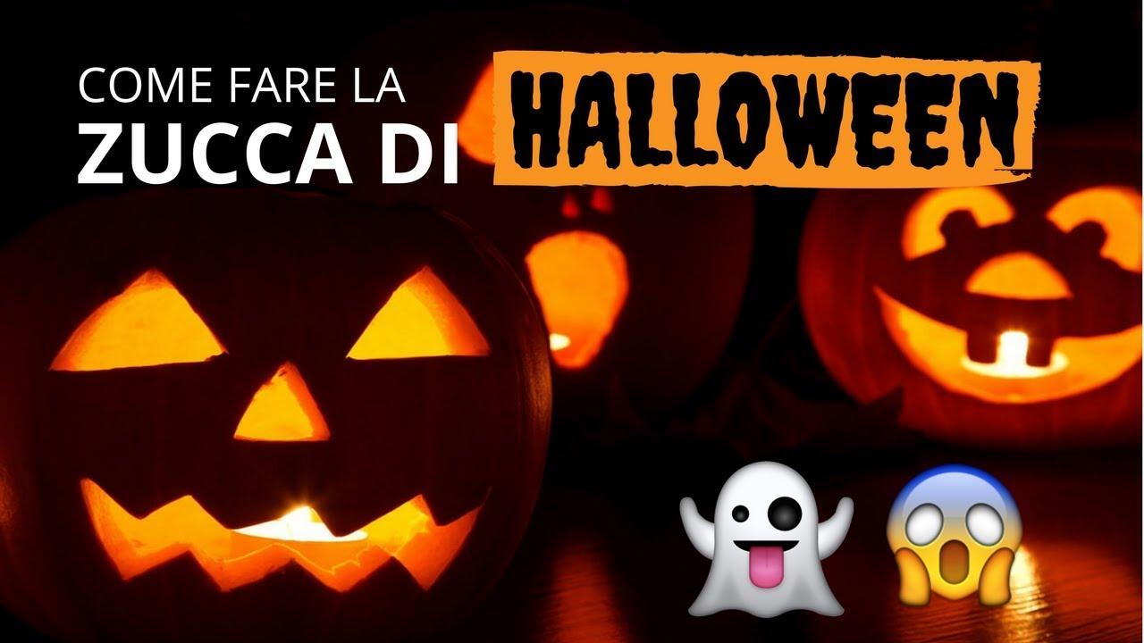 Come Fare Zucca Di Halloween Video.Come Fare La Zucca Di Halloween Tutorial