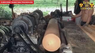 Pembuatan TRIPLEK KAYU JATI Tercepat di Dunia ★Teknologi Mesin Tercanggih